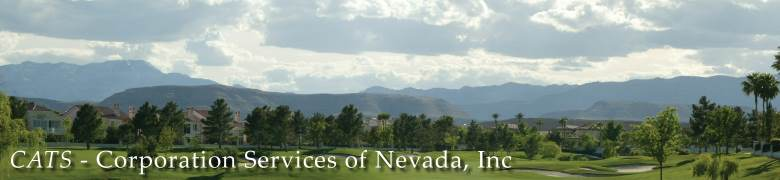 Corporation Services of Nevada, Inc.